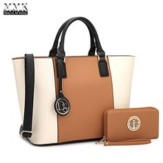 MMK collection Women Fashion Matching Satchel handbags wi...