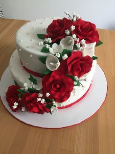 top 20 wedding anniversary cakes images the best recipes Happy Marriage Anniversary Cake Newest - CowlesNCP ~ Make your Wedding Ideas Wedding Anniversary Cake Image, Happy Marriage Anniversary Cake, Anniversary Cake Designs, Anniversary Cake Pictures, 25th Anniversary, Cool Wedding Cakes, Wedding Cake Designs, Wedding Ideas, Bolo Barbie Paris
