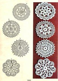 Captivating Crochet a Bodycon Dress Top Ideas. Dazzling Crochet a Bodycon Dress Top Ideas. Crochet Diy, Mandala Au Crochet, Crochet Vintage, Crochet Doily Patterns, Crochet Diagram, Crochet Squares, Crochet Chart, Thread Crochet, Love Crochet