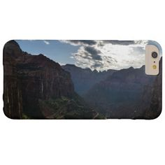Canyon Overlook Zion National Park Barely There iPhone 6 Plus Case