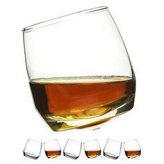 Buy Sagaform Round Bottom Whisky Glasses, Set of 6, Clear Online at johnlewis.com