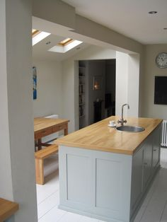 A kitchen extension and a loft conversion