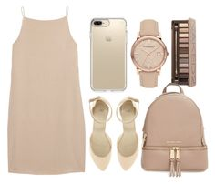 """Bored asf"" by casualbandgirl ❤ liked on Polyvore featuring T By Alexander Wang, ASOS, Speck, Burberry, Urban Decay, MICHAEL Michael Kors, popular, brown, woman and pro"