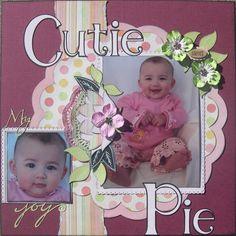 Cutie Pie - Scrapbook.com