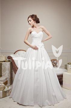 Tulipia Happy - Aleksis One Shoulder Wedding Dress, Wedding Dresses, Happy, Fashion, Bride Dresses, Moda, Bridal Gowns, Fashion Styles, Weeding Dresses