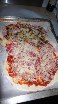 DIY pizza; Smaakt beter en geen slechte toevoegingen!  DIY pizza; Better tast and no bad adds!