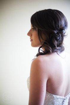 Bridal profile portrait  [copyright] Great Heights Photo