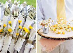 Detalhes fofos no buffet de casamento - Constance Zahn   Casamentos