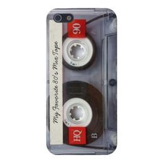 Funny 80's Cassette Tape, Personalized iPhone 5 Case
