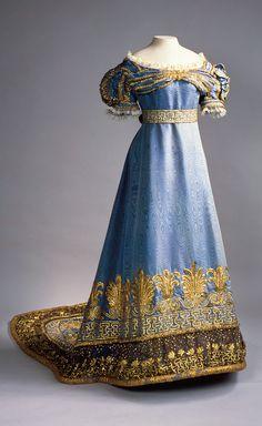 Robe de cour de Maria Feodorovna 1820