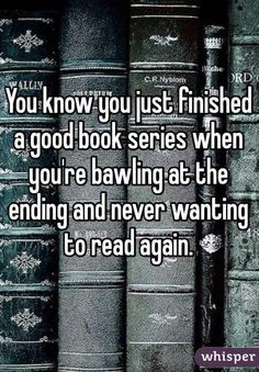 So many series have done this to me