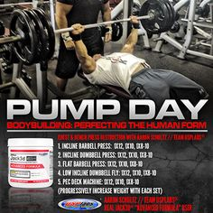 """Something fun in the weekly @USPlabs """"Iron Day"""" workout routines with arm training; the Gun Show"""