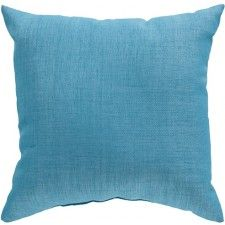 Moselle Indoor/Outdoor Pillow, Turquoise
