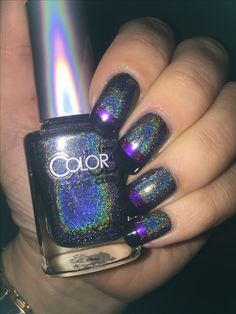 Colorclub holographic stamping