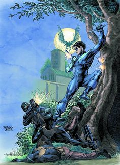 NIGHTWING #140/Search//Home/ Comic Art Community GALLERY OF COMIC ART