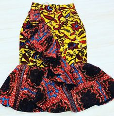 Unique African Print Skirt Styles For Ladies - Victoria G. - Unique African Print Skirt Styles For Ladies – Victoria Gadzekpo – African Print Dress Designs, African Print Skirt, African Print Dresses, African Print Fashion, Latest African Fashion Dresses, African Dresses For Women, African Attire, Victoria, African Traditional Dresses