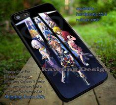 Kingdom Hearts III Anime iPhone 6s 6 6s  5c 5s Cases Samsung Galaxy s5 s6 Edge  NOTE 5 4 3 #cartoon #animated #KingdomHeart #game dt