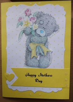 Tatty Teddy Mothers Day card