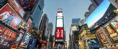 Podcast: Meet The Big Apples billion dollar broker Cheap Holiday, Holiday Deals, 50 States, United States, Spain Holidays, Times Square, New York, Marketing, Night
