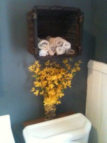 A Basket Hung on the Wall