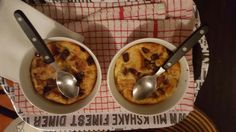Bread pudding with dates