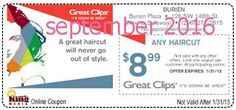 Free Printable Coupons: Great Clips Coupons Great Clips Coupons, Love Coupons, Online Coupons, Grocery Coupons, Free Printable Coupons, Free Printables, Coupons For Boyfriend, My Calendar