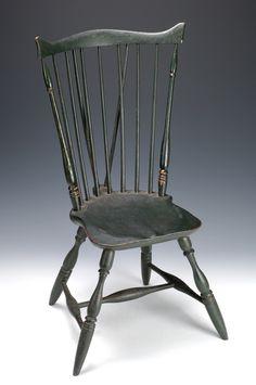 Newport Windsor Chair, ca. 1780