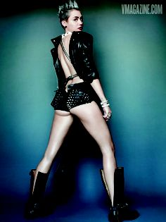 Miley Cyrus strikes a pose for V Magazine. Get the pics & details here!