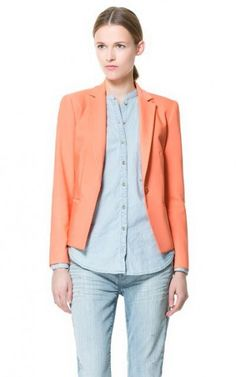 Candy Color Casual Blazer-$22.90 FREE SHIPPING
