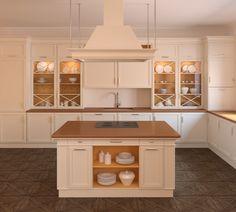 Moderne landhausküchen mit kochinsel  Moderne Küche Design kochinsel holzfront Serie Domus ...
