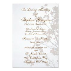 2 Page Graduated Step Fold Funeral Program Template ... |Funeral Services Announcement Cremation