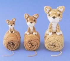 FREE Amigurumi Cute Dog Crochet Pattern and Tutorial