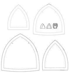 Patrones de búhos de tela - Imagui