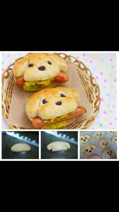 Puppy bread - Must make for kids!