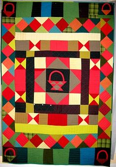 Basket medallion quilt by Nifty Quilts