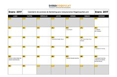 Enero de 2017: calendario de acciones de marketing para restaurantes http://blgs.co/4jlj3X