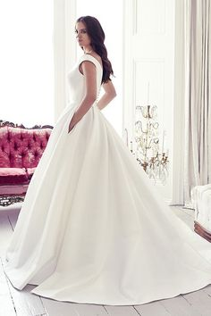 Monet by Suzanne Neville from Brides of Winchester wedding gown #suzanneneville