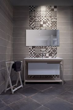 Terre collection on show. Showroom Iris Ceramica 2013.