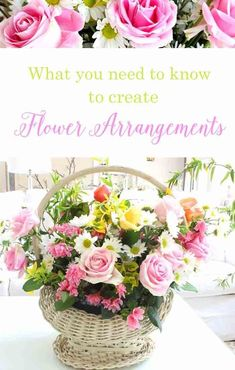 Create a flower arrangement for $15 with 10 easy tips. A helpful step by step diy to design a stunning bouquet!