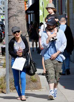 See How Christina Aguilera's Son Max Has Grown!: June 2010