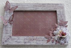 altered shabby frame - cornice alterata shabby