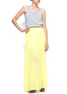 MANGO - CLOTHING - Combi maxi-dress