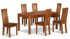solid wood dining table designs - Google Search