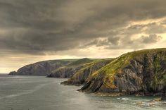 Pembrokeshire Coastal Path in Wales