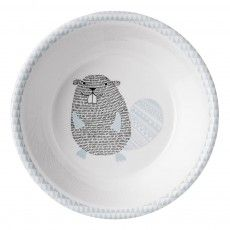 Noah Melamine Plate D14cm Light blue