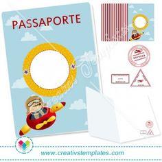 Passaporte Aviador mod:822