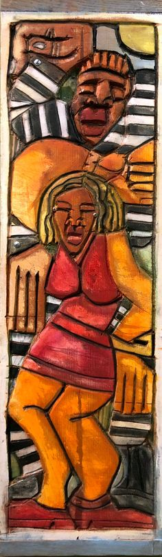 Poor Boy by LaVon Williams Williams Basketball, After College, University Of Kentucky, Record Collection, Black Artists, Art School, Art World, Illustrators, Folk Art