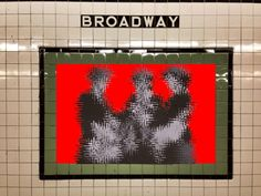 A Jilly Ballistic and Ryan Seslow collaboration Subway Street Art Gets on the GIF Train Glitch Art