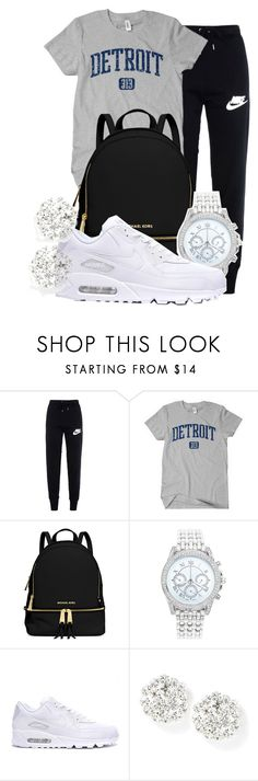 """""""Bummy day"""" by gvlden-bvbx ❤ liked on Polyvore featuring NIKE, MICHAEL Michael Kors and Lane Bryant"""