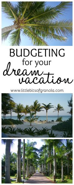 I can't wait for our vacation this year! This post is full of super helpful tips for creating a vacation budget.